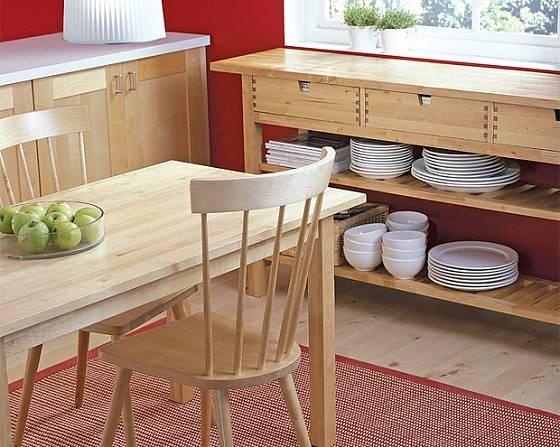 Totální renovace umožnuje sladit kuchyňskou linku s ostatním nábytkem