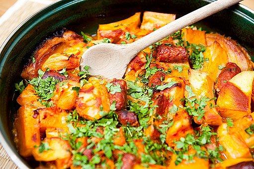 bramborový paprikáš