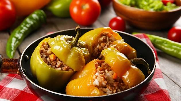 Fantastické rychlé bezpřílohové papriky