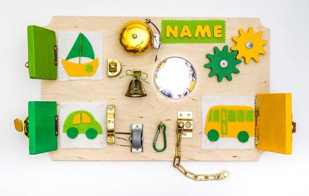 Busy board má rozličné podoby