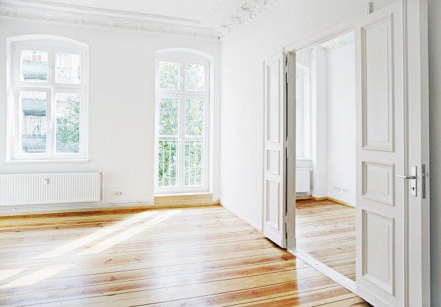 Posuvné dveře pomohou ušetřit místo.