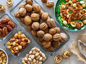Ořechy by měly být pravidelnou součástí našeho jídleníčku