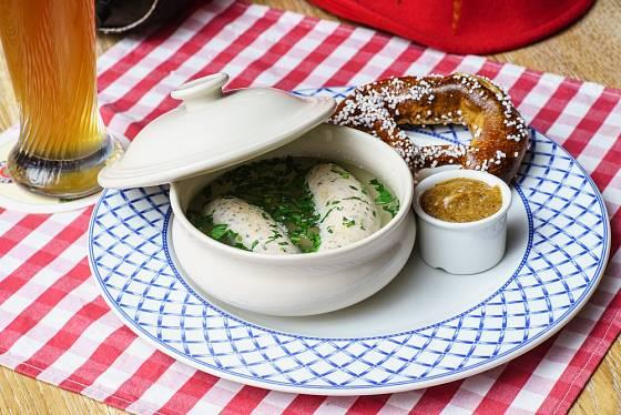 Bavorská sladká hořčice.