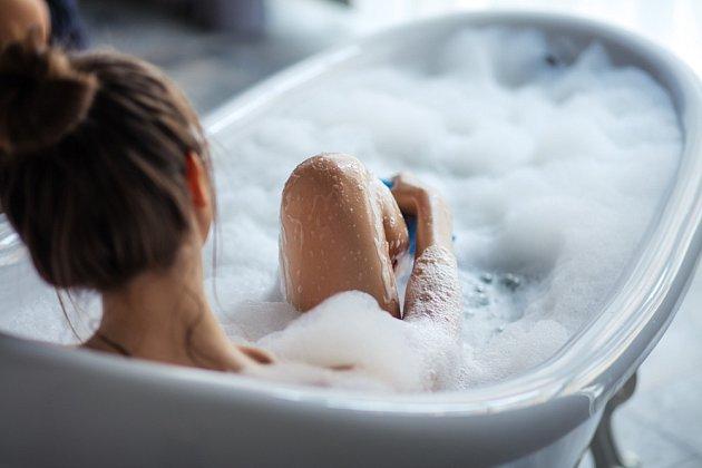 Relaxační koupel je příjemná