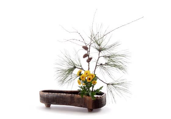 Aranžování ve stylu ikebana je častým tématem mnoha aranžérských soutěží.