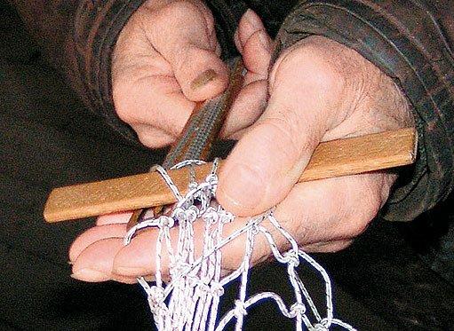 pletení sítě