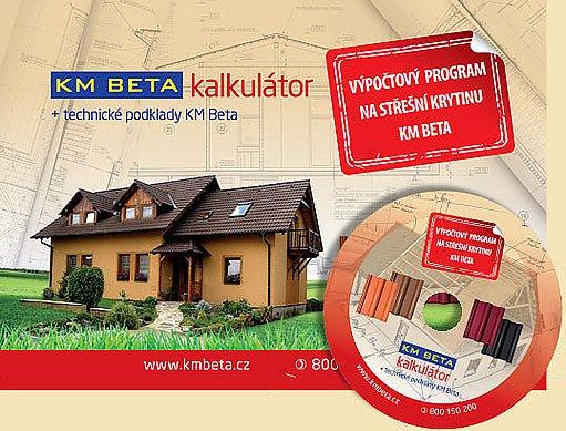 KM Beta - kalkulátor střechy