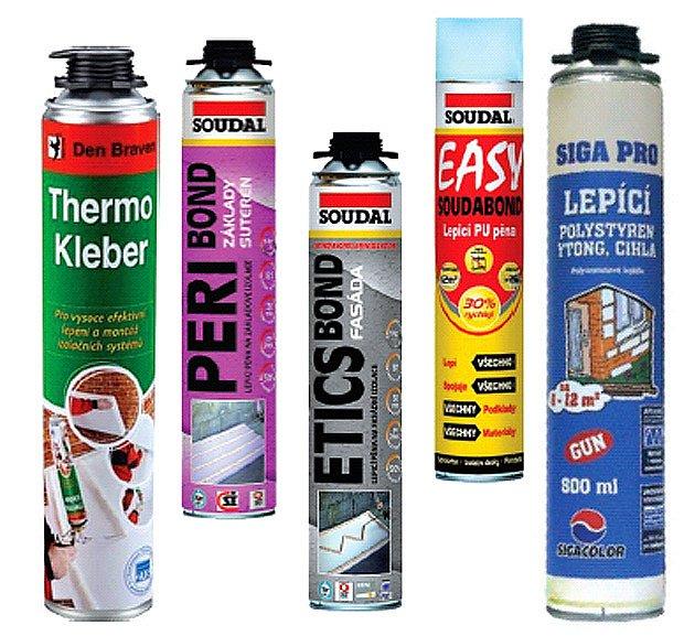 Na výběr je velké množství výrobků s rozličnými vlastnostmi