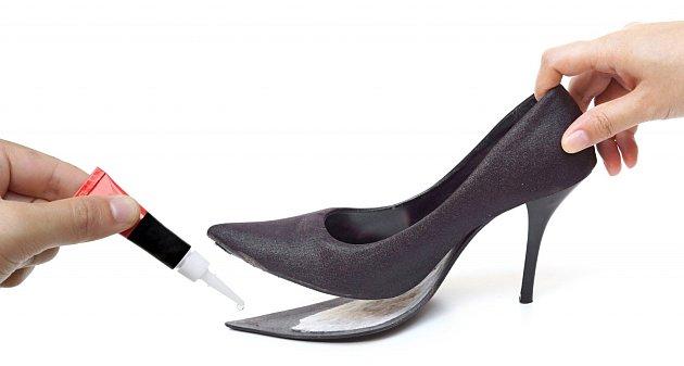 Na opravu bot není příliš vhodné