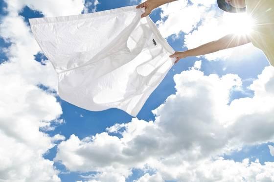Prádlo bude zase bělostné