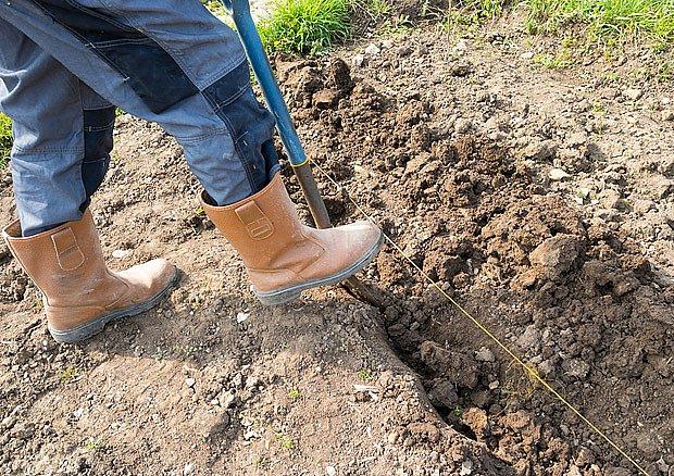 Před výsevem musíme půdu dobře zrýt