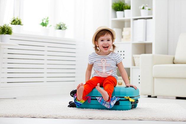 S balením pomůže malý cestovatel