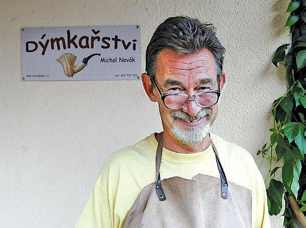 výrobce dýmek Michal Novák