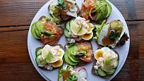 Dánské obložené chlebíčky – Smørrebrød