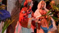 velikonoční betlém ve Grosshadernu