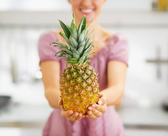 Správně vybraný ananas je zárukou dobré chuti