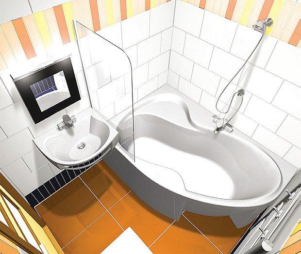 Prvně se řeší dispozice koupelny.