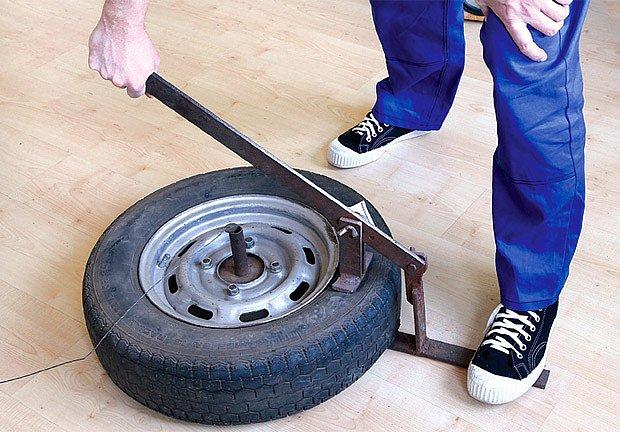 Domácí pneuservis