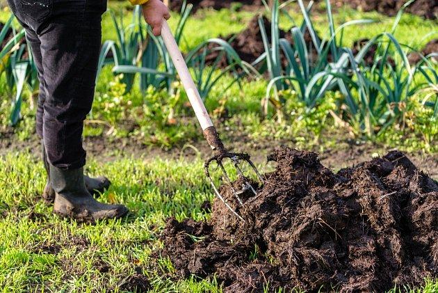 Organická přírodní hnojiva.