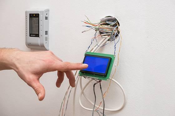 Jednoduché ovládání technologií, zatím v provizorní podobě
