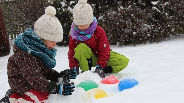 Netradiční ledovou stavebnici vám pomůže vyrobit mráz.