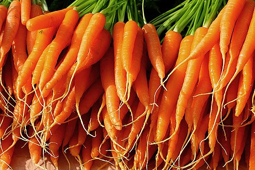 Mrkev i karotka jsou plné blahodárných vitaminů.