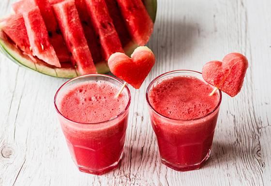 Z melounu snadno připravíte výtečné smoothie
