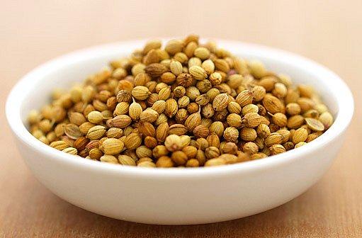 koriandr semena