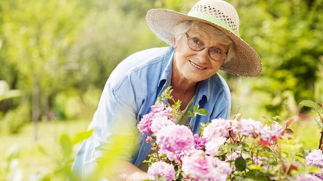 Péče o zahradu by měla přinášet zdravou fyzickou námahu, která je potěšením.