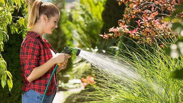 Jak pečovat o zahradu vhorkém létě?