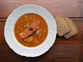 Falešná dršťková - oblíbená polévka z hlívy ústřičné.