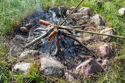 Klasické přírodní ohniště můžete snadno, kdykoliv zrušit a udělat jinde.