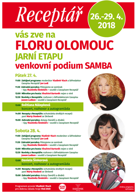 Jarní Flora Olomouc 2018