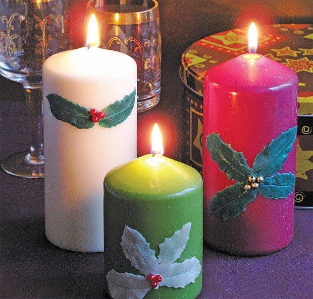 Zdobné svíčky