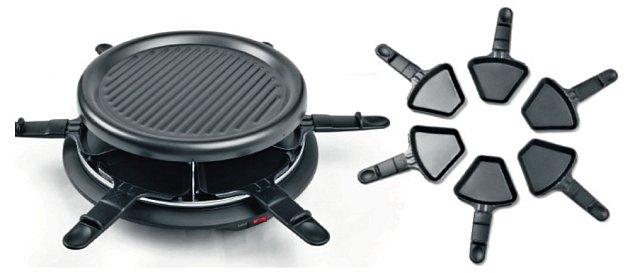 Další z připravených cen - elektrický raclette gril.