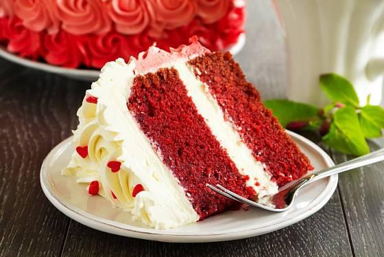 Red velvet - dort ideální pro sváteční příležitosti.