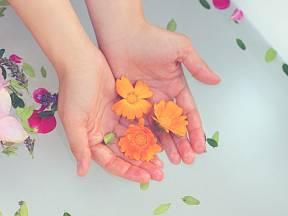 Do bylinkových koupelí můžeme využít rostliny ze zahrady.