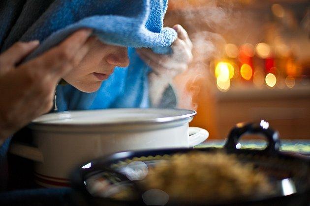 Efekt při inhalování nastupuje rychleji než při popíjení léčivých čajů.