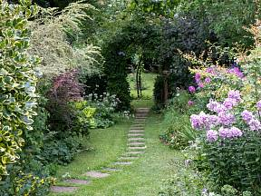 I malá zahrada dokáže oslnit.