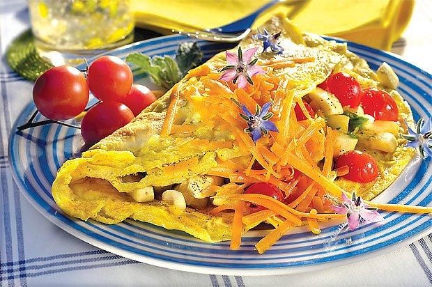 omeleta s patyzonem
