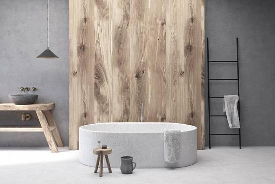 Vany lze vyrobit i z méně tradičních materiálů