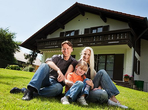 orientace domu je ideálně na jih případně západ