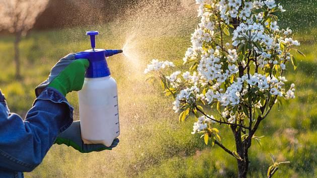Vyhněte se postřiku rostlin ve větrných dnech a pro lepší výsledky je rozprašte odpoledne nebo až večer.
