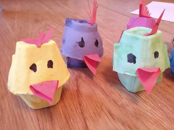 Kuřátka mohou mít různé barvy