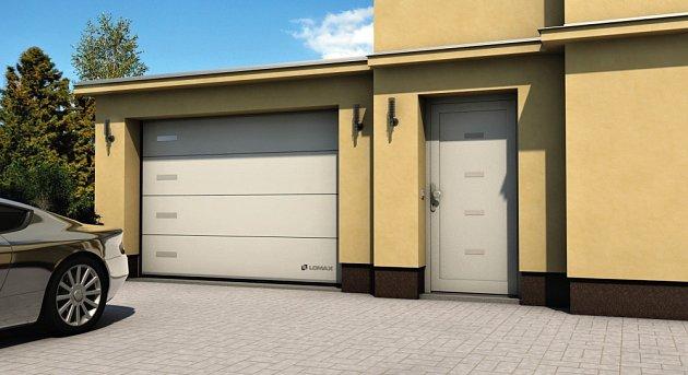 Sekční garážová vrata CREATIVE DELTA - 109