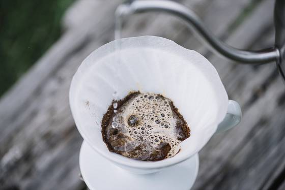 Překapávaná káva - můžete si ji připravit přesně na míru