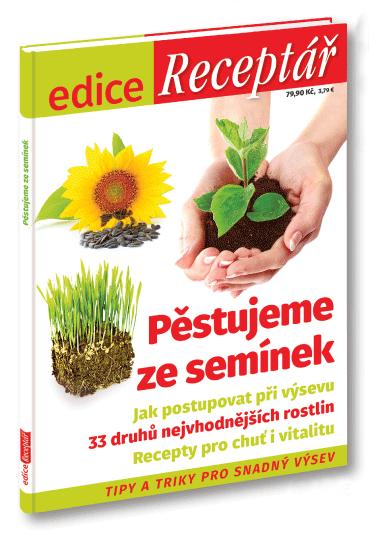 Edice Receptáře - Pěstujeme ze semínek