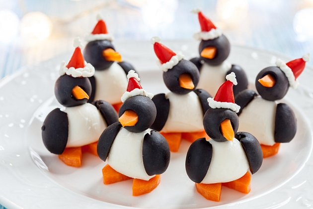 Olivy děti sice dvakrát nemusejí, ale u tučňáků na to často zapomenou...
