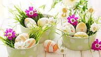 Velikonočním vajíčkům to v osení sluší