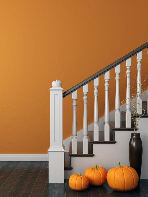Oranžová k podzimu patří